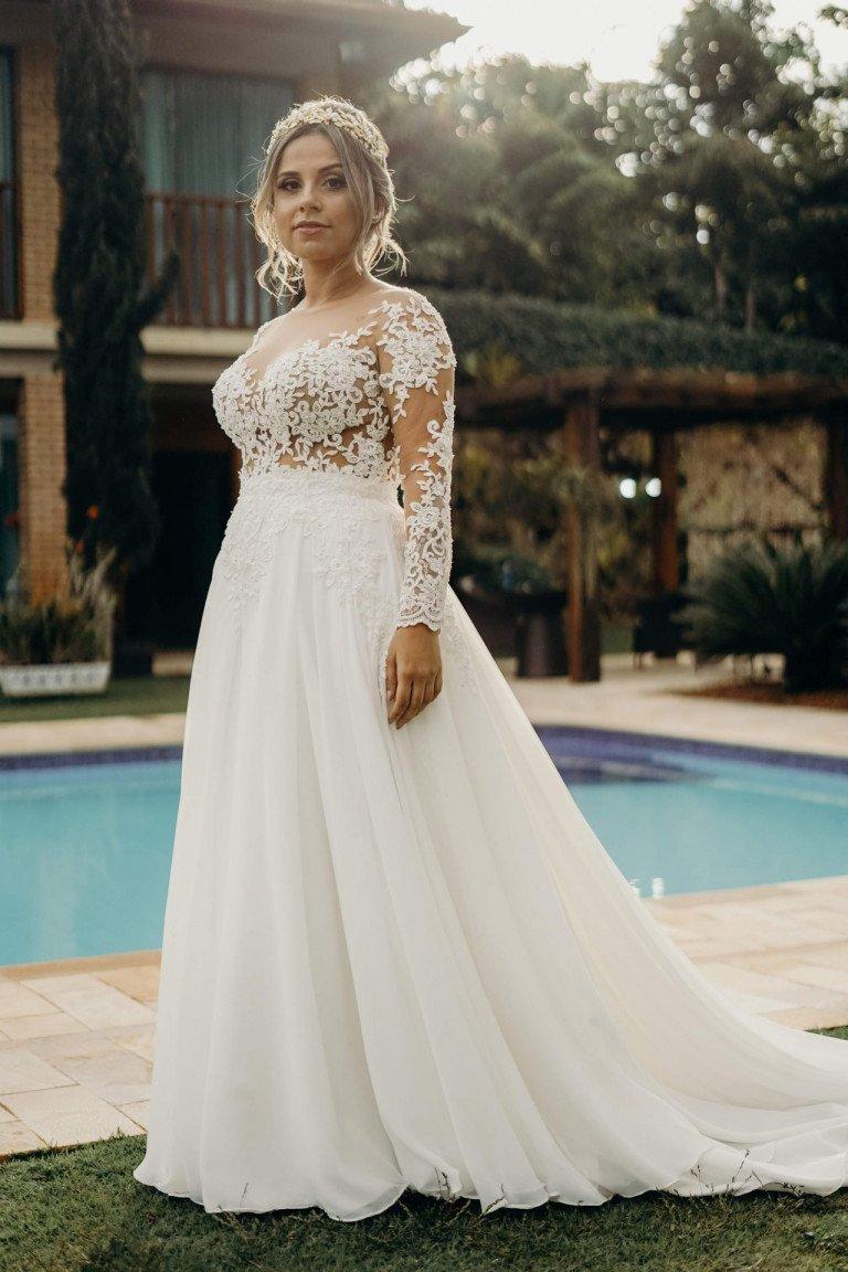 Noiva- Casamento ao ar livre- Sidney Campelo- Espaço Shangrilá-min